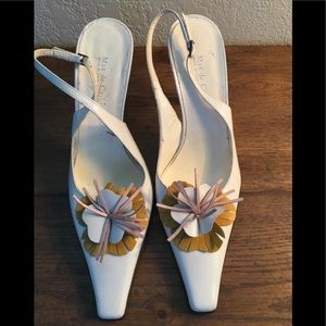 Shoes - Max de Carlo sling backs made in Italy NEW!